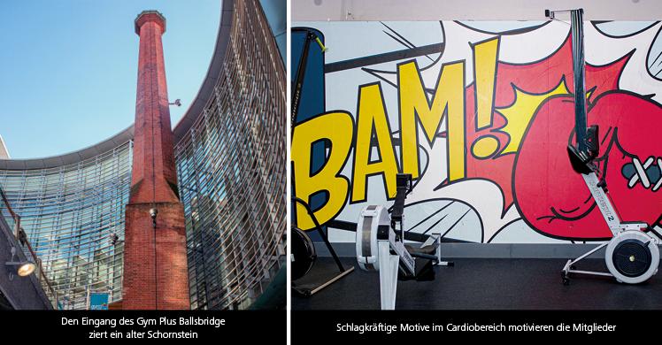 Fitnessstudios in Irland: Das Gym Plus Ballsbridge im Dubliner Vorort