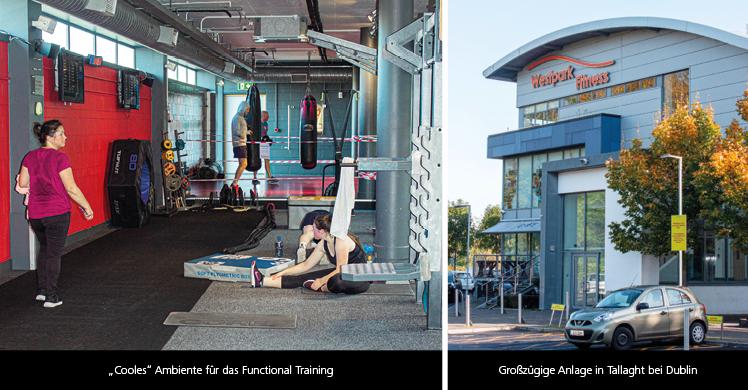 Fitnessstudios in Irland: Das Westpark Fitness