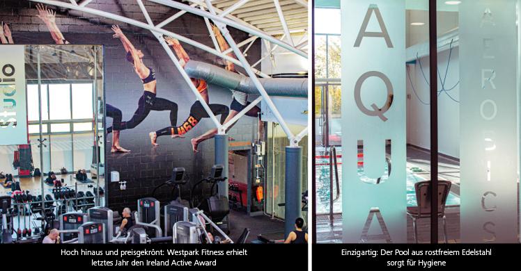 Fitnessstudios in Irland: Das Westpark Fitness bietet auch Aquafitness