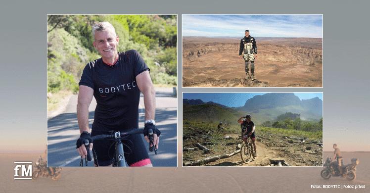 Hat Deutschland 2007 'Goodbye' gesagt: Boris Leyck ist nach Südafrika ausgewandert und betreibt dort EMS-Studios.