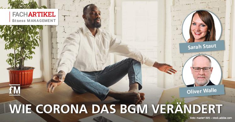 Fachartikel: Corona verändert das BGM