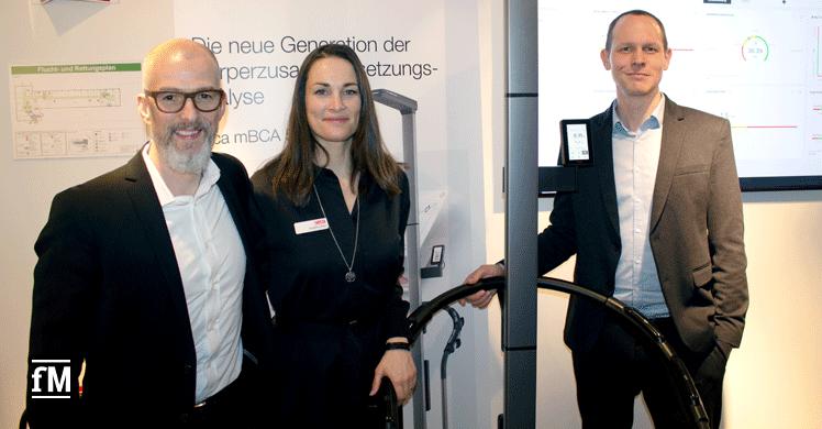 Patrick Meier, Angelina Zirkel und Stefan Rittmann über die Hintergründer der Kooperation von Kieser Training und seca Deutschland