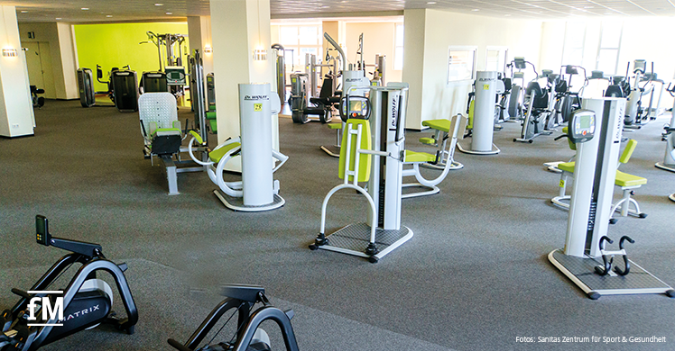 Hier wird Gesundheit großgeschrieben – Sanitas Zentrum für Sport & Gesundheit in Dillingen/Saar
