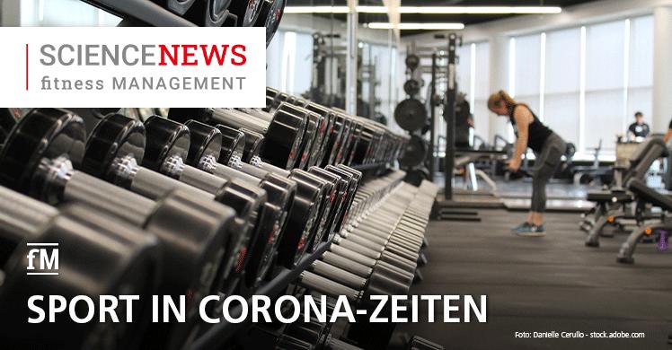 Sport und Corona – Studie: 'Sport in Zeiten von Corona' – fM Online-Rubrik 'Science News'