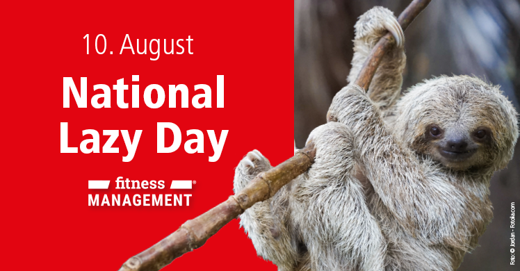 10. August ist National Lazy Day