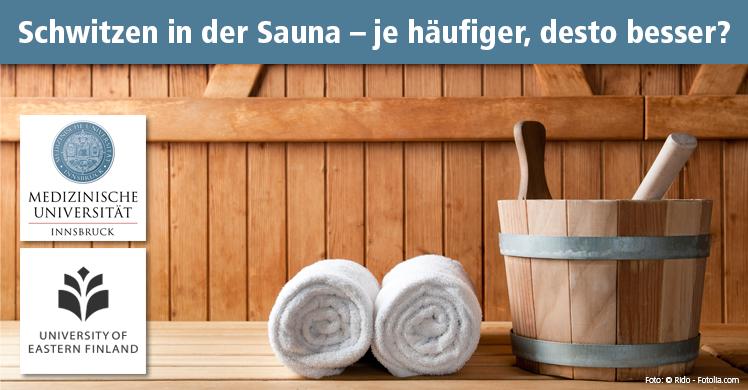 Langzeitstudie bestätigt: In der Sauna schwitzen ist gesund. Denn regelmäßige Saunabesuche senken die Herz-Kreislauf-Sterblichkeit um bis zu 70 Prozent.