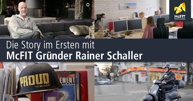 Interview im Handelsblatt mit McFIT-Gründer Rainer Schaller und TV-Doku über Deutschlands reichste Unternehmer.