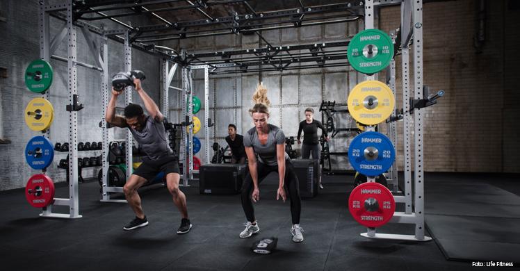 Allround-Studios sind mit Cardio- und Kraftgeräten von Life Fitness gut ausgestattet