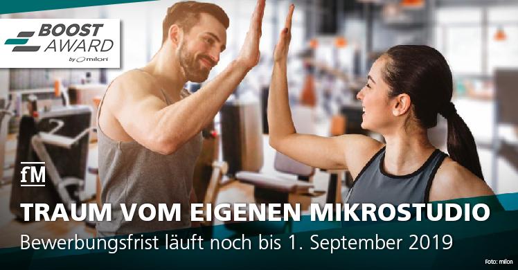 Der Vorreiter im Bereich digital vernetzter Trainingssysteme verleiht die neu geschaffenen Auszeichnung an die erfolgreichsten Partnereinrichtungen in den Kategorien 'Fitness & Gesundheit' und 'Therapie & Medical' und sucht Deutschlands Mikrostudio-Gründer 2020.
