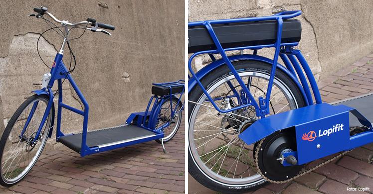 Zukunft der Mobilität: Der Lopifit könnte E-Rollern, E-Bikes oder E-Scootern Konkurrenz machen.