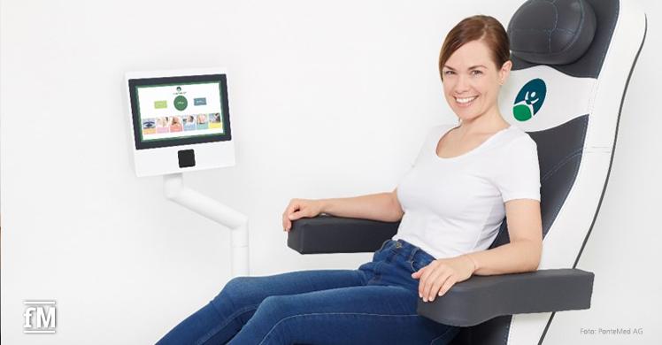 Mit dem PelviPower Trainingsstuhl Entspannung, Kräftigung, Faszien und Durchblutung fördern.