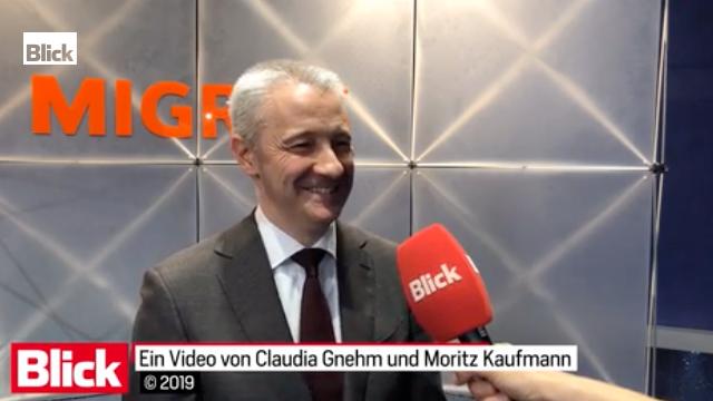 Migros-CEO Fabrice Zumbrunnen (49) kündigt an, wie er die Migros künftig aufstellen will.