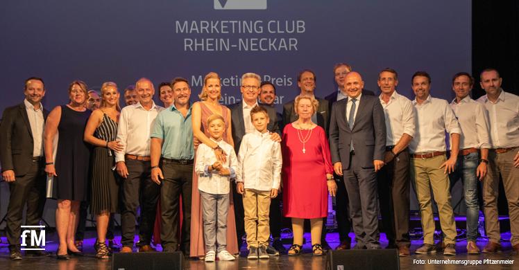 Fitness-Unternehmer erhält Auszeichnung des Marketing Clubs Rhein-Neckar.