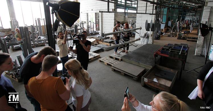 Das Foto-Shooting bei gym80 fand in der 32. Kw statt.