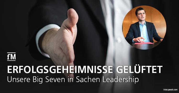 Top-Eigenschaften der Führungskräfte: Ranking von Autor Julien Backhaus und fitness MANAGEMENT in Sachen Leadership