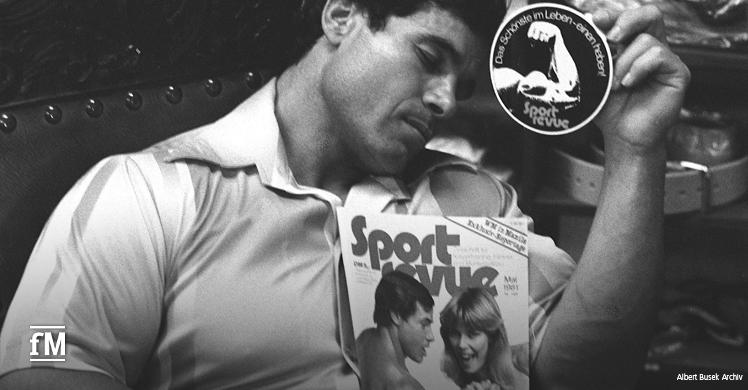 Die Überschrift zu dem Sport Revue-Bericht in der Ausgabe 05/81, die Franco in Händen hält, beschreibt sein Leben. Es klingt wie ein Märchen ist aber Wirklichkeit geworden.