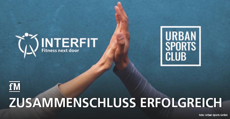 Integration abgeschlossen: Interfit ist jetzt Teil von Urban Sports Club