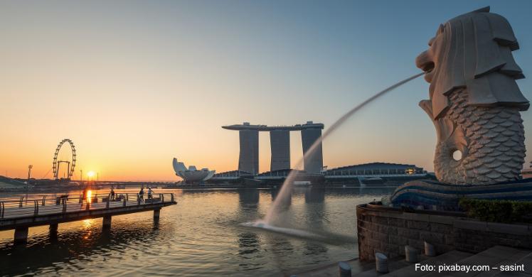 Singapur: Millionenmetropole und ab 2020 ebenfalls FIBO Stadt