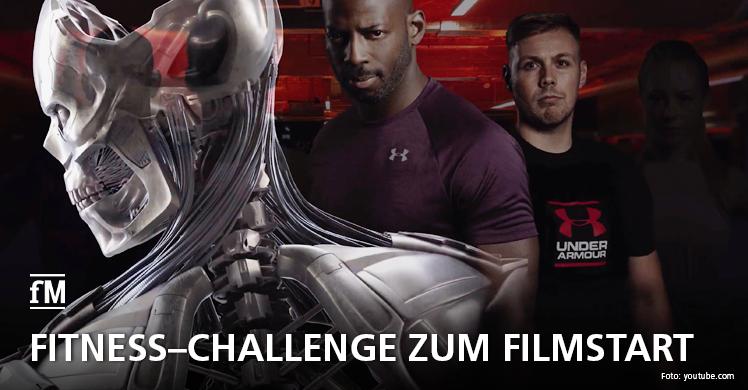 Fitness-Challenge zum Kinostart von 'Terminator: Dark Fate'