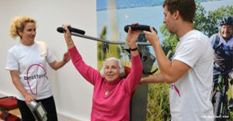 Projekt für mehr Bewegung im Alter: 'bestform. Sport kennt kein Alter'.