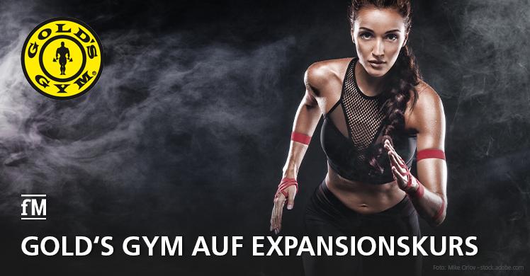 Goldene Zeiten: Gold's Gym ist Kult und unter Franchisenehmer beliebter denn je