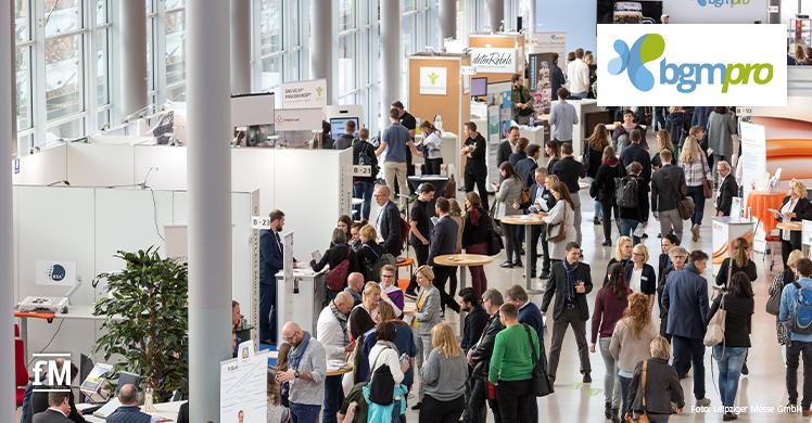 Rückblick – Fachmesse und Kongress für Betriebliches Gesundheitsmanagement: die BGMpro 2019 im Leipziger Congress Center
