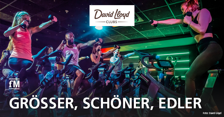David Lloyd Club in Bad Homburg frisch renoviert