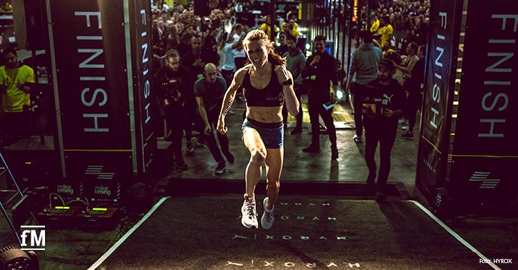 Indoor-Fitness-Wettbewerb für Amateure und Profis: HYROX versteht sich als Fitnessevent mit Massenbeteiligung