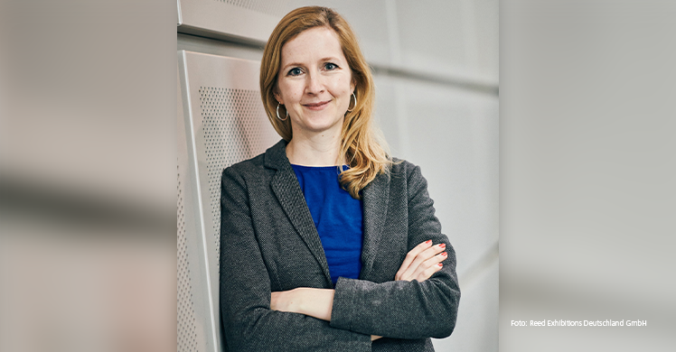 Cornelia Tautenhahn, neue stellvertretende Pressesprecherin der Reed Exhibitions Deutschland GmbH