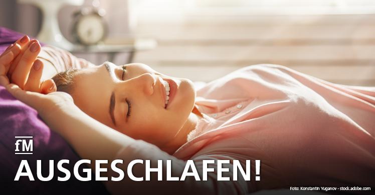 Fit schläft besser: Unsere Tipps für einen gesunden Schlaf
