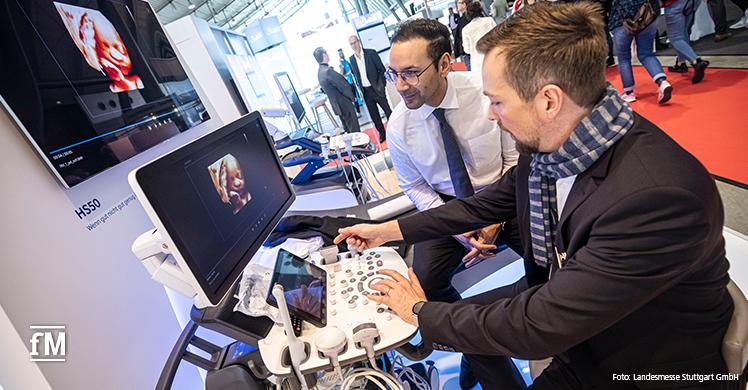 Fachmesse-Doppel in Stuttgart: Die MEDIZIN bot neueste Diagnostik zum Anfassen