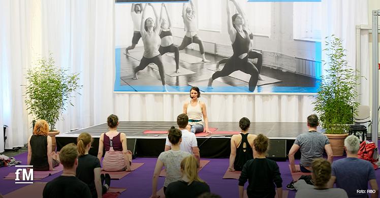 Vorschau FIBO 2020: Yoga als Sparringspartner klassischen Sporttrainings