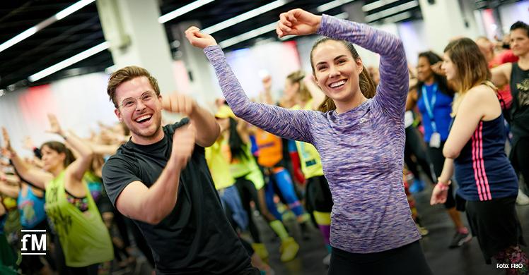 Vorschau FIBO 2020: Zumba ist schon lange fester Bestandteil der Fitnessmesse in Köln
