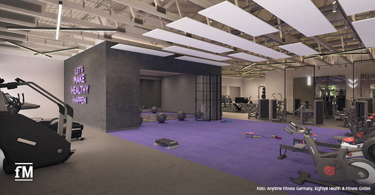 Let's make healthy happen: US-Franchise Anytime Fitness plant ersten Club in Deutschland