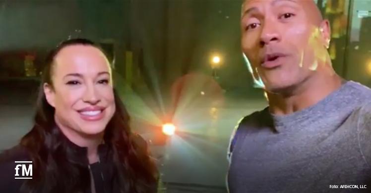 Athleticon 2020: Dwayne 'The Rock' Johnson und Ex-Frau Dani Garcia planen gemeinsames Fitnessevent