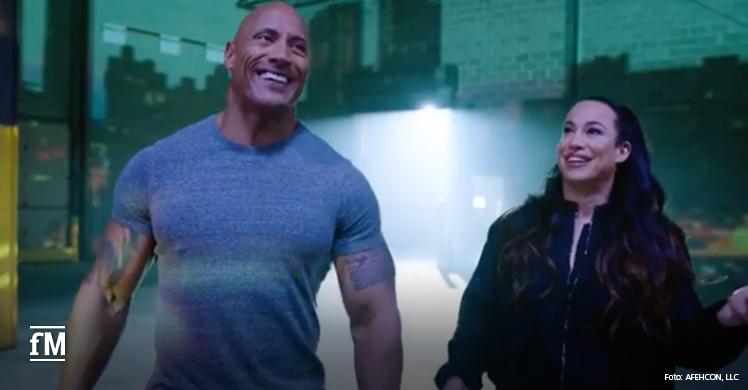 Planen mit Athleticon ein riesiges Fitnessfestival in Atlanta: Dwayne 'The Rock' Johnson und seine Ex-Frau Dani Garcia