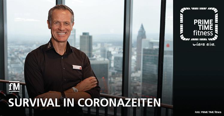 Interview mit PRIME TIME fitness GmbH Geschäftsführer Henrik Gockel – so überleben Fitnessstudios in der Corona-Krise