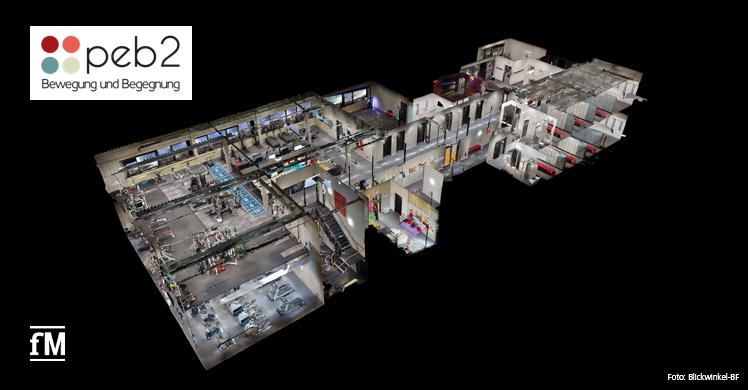 Der virtuelle Studiorundgang 3DFitness
