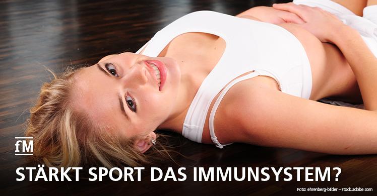 fM-News: Stärkt Sport das Immunsystem?
