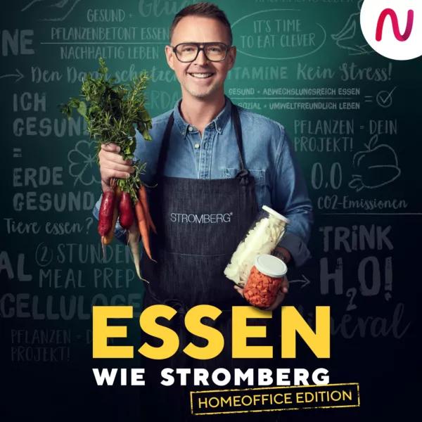 Hier klicken: Podcast bei Audio Now 'Essen wie Stromberg – Die Homeoffice Edition'