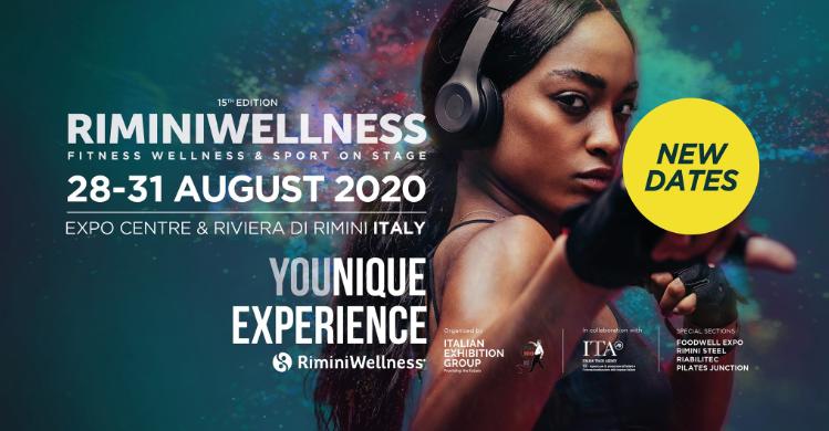 15. Rimini Wellness mit neuem Datum Ende August 2020