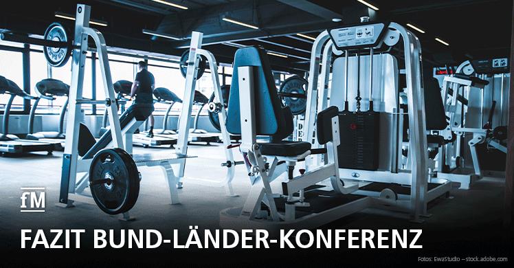 Keine weiteren Lockerungen: Bund-Länder-Konferenz vertagt Entscheidung über Wiedereröffnung von Fitnessstudios