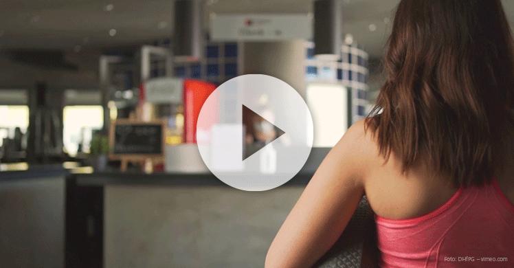 Videodarstellung des Sicherheits- und Hygienekonzept für Fitnessstudios