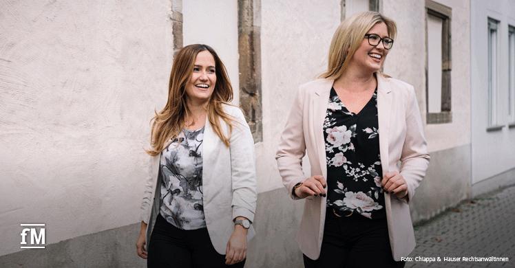 Rechtsanwältinnen Gianna Chiappa und Viola Hauser