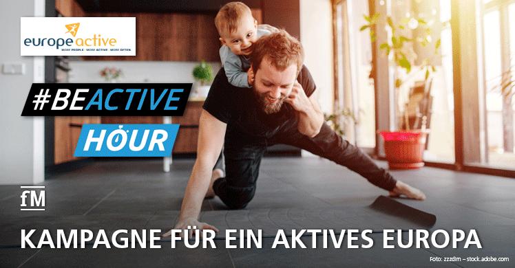 Jetzt mitmachen! #BEACTIVE HOUR: Kampagne für ein aktives Europa