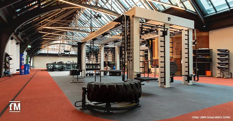 Blick ins Studio: Fitness First Hamburg am Stephansplatz