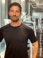 Mihajlo Panajotov, Fitnesstrainer bei ELEMENTS