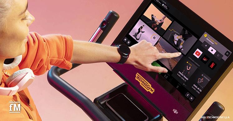Technogym kündigt die Einführung einer neuen Benutzeroberfläche an
