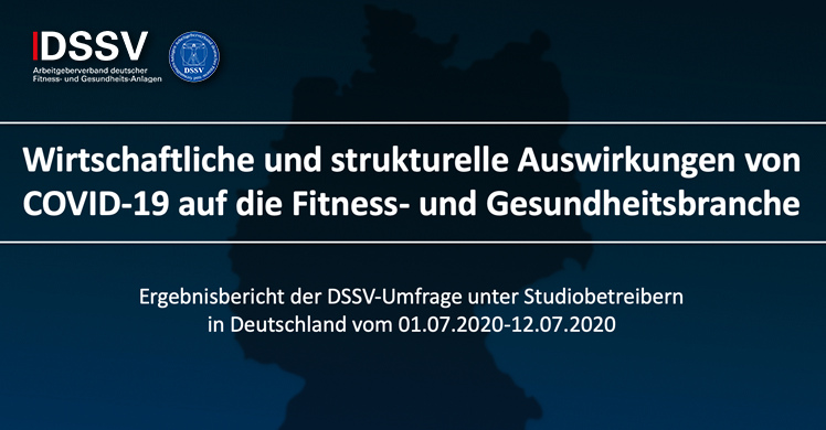 Die Ergebnisse der Online-Umfrage des DSSV zu den wirtschaftlichen und strukturellen Auswirkungen von COVID-19 auf die Fitness- und Gesundheitsbranche stehen fest