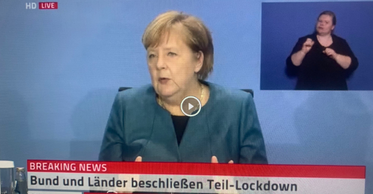 ntv Livestream: Merkel informiert nach Corona-Gipfel